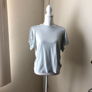 Helmut Lang oversize flowing sleeve  tee - sz S